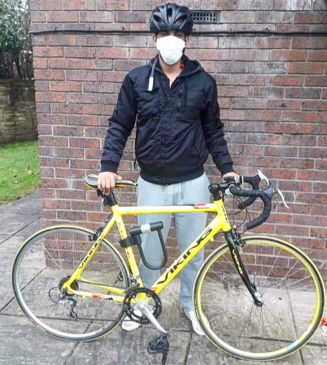 Ready to ride thanks to bicycle donations in West Yorkshire