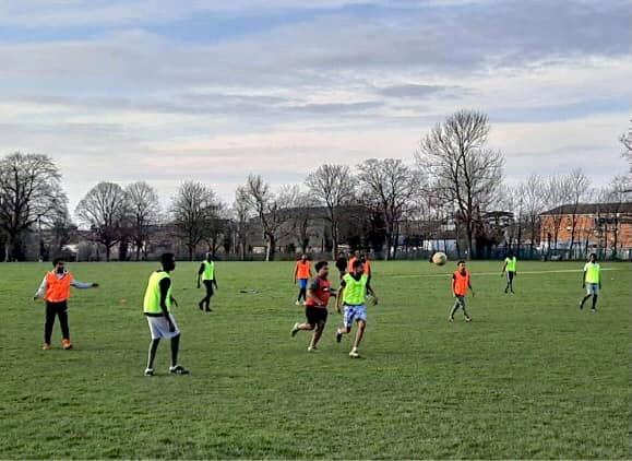 Football kits donated for sports-lovers in Slough