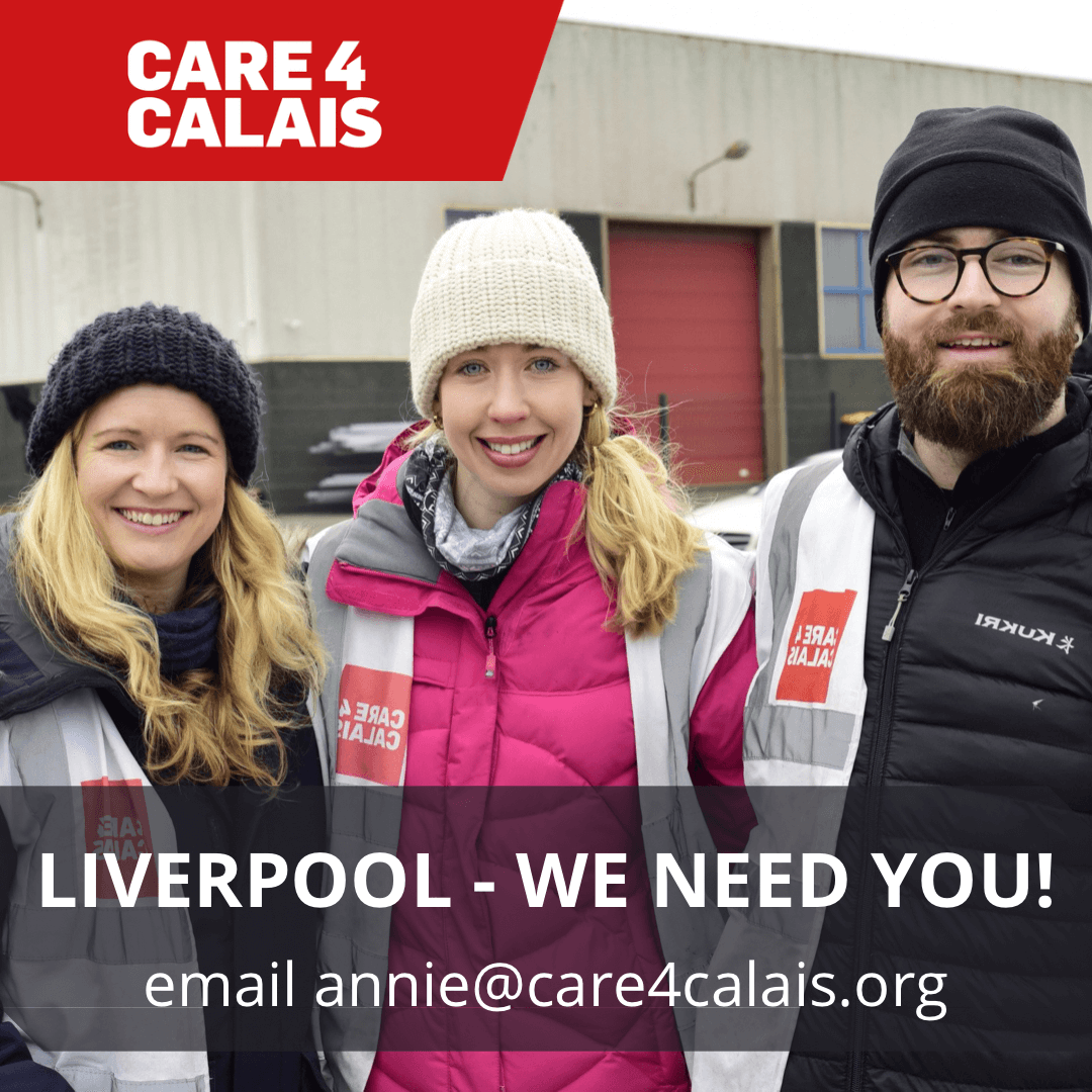 Volunteers needed to support asylum seekers in Liverpool!