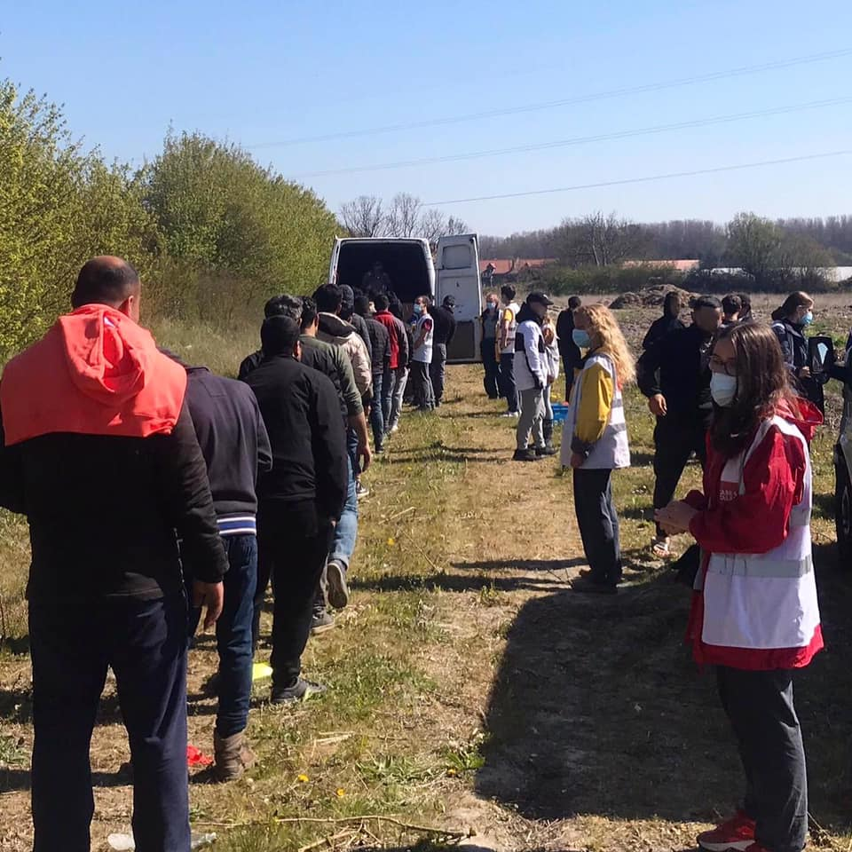 New obstacles to aid distribution in Dunkirk after relocation of refugee camp