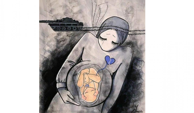 Afghani artist Shamsia Hassani